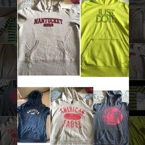 Sweatshirt Bundle (Nike/American Eagle)